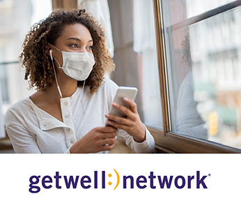The GetWell Loop COVID-19 care plans incorporate videos from Learn to Live